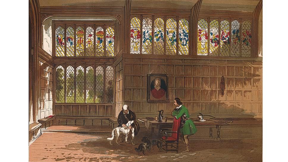 Окна в резиденциях принято было украшать особо