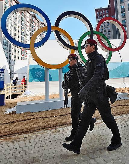 Правоохранительные органы Южной Кореи следят за порядком в преддверии Олимпийских игр