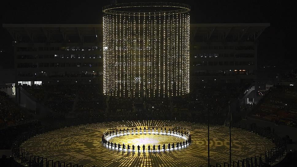 Церемония открытия Олимпиады в Пхёнчхане