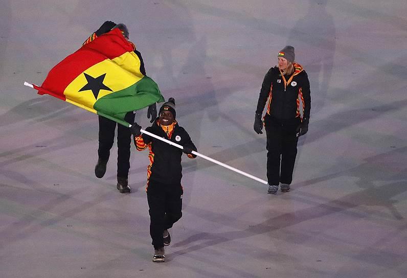 Спортсмен из Ганы Акваси Фраймпонг