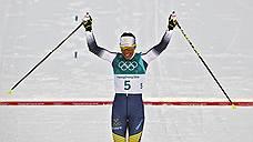 Первое золото ушло Швеции