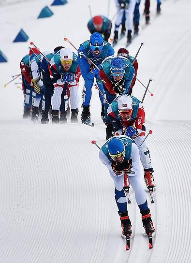Мужской скиалтон на дистанции 30 км