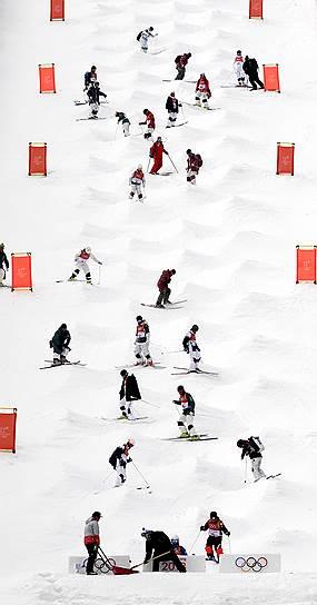 Квалификация соревнований по фристайлу среди женщин на зимних Олимпийских играх
