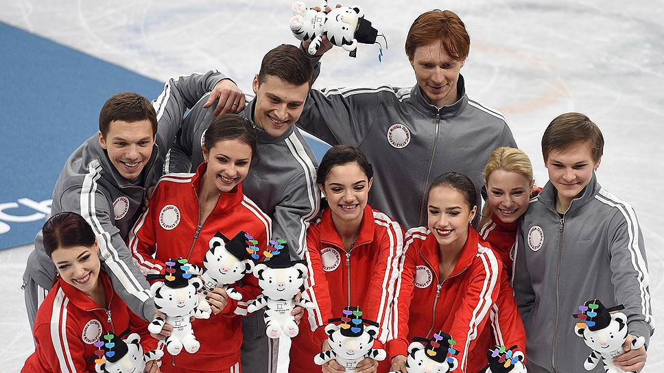 Как российские фигуристы стали вторыми в командном турнире на Олимпиаде