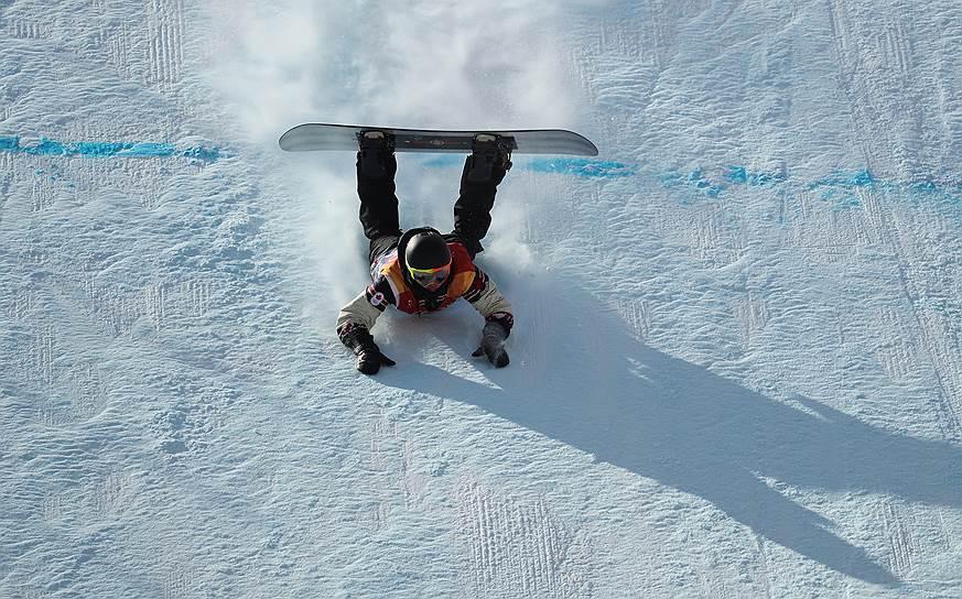 Сноубордист Марк Макморрис (Канада) завоевал бронзу в мужском слоупстайле