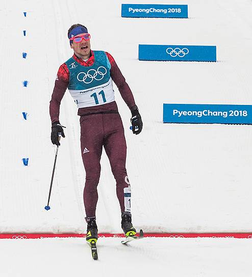 Российский спортсмен Андрей Ларьков