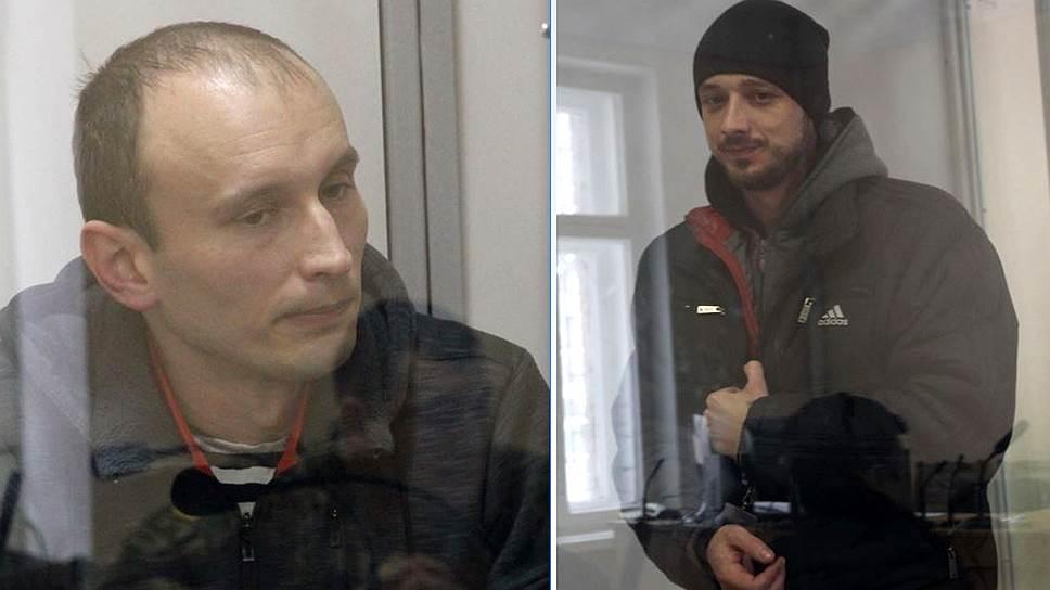 Военнослужащие из Крыма Александр Баранов и Максим Одинцов (слева направо)