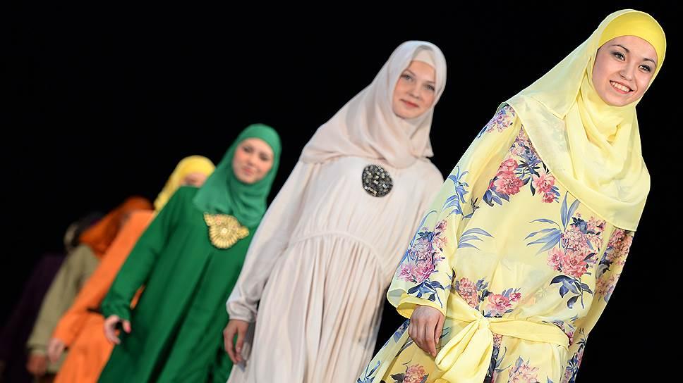 Международный фестиваль Islamic clothes в Казани (июнь 2013 года)