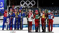 Российские лыжницы замучили фаворитов />/ Сборная России завоевала эстафетную бронзу