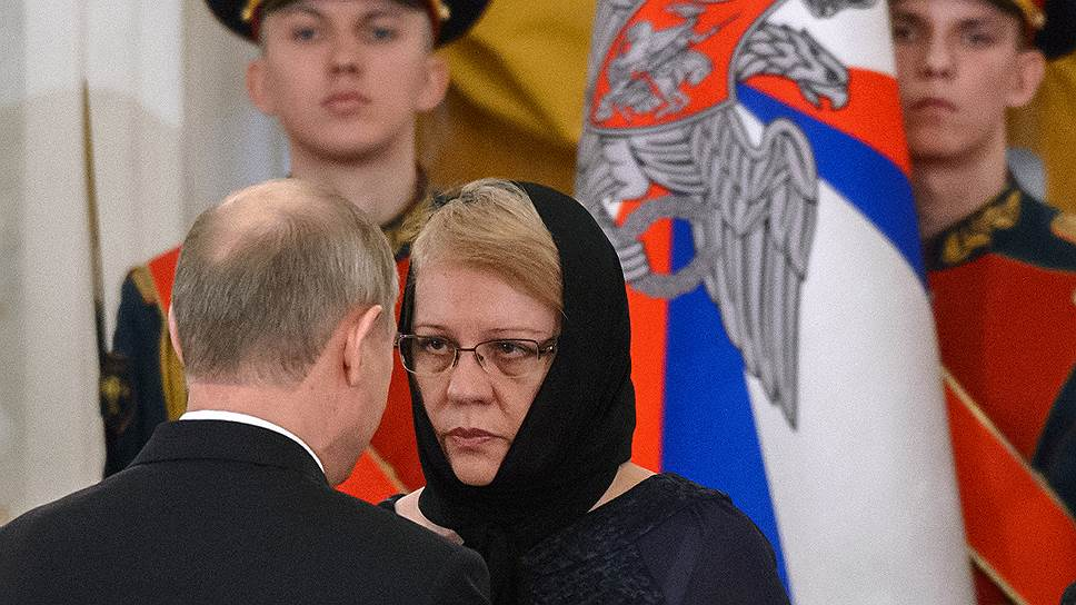 Как Владимир Путин встретился с родными майора Романа Филипова