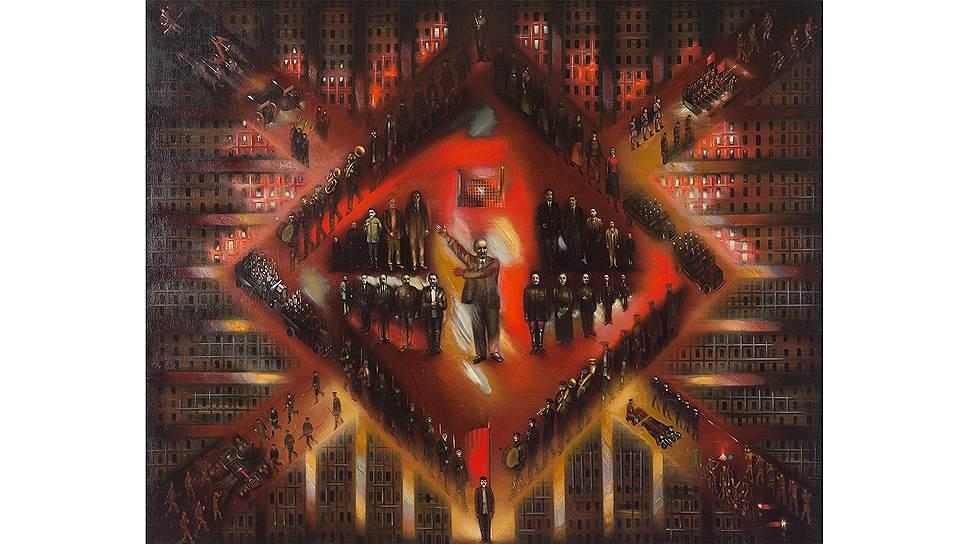 «Восстание» Климента Редько, которое ныне можно увидеть в Третьяковской галерее, хранилось под шкафом в квартире вдовы художника и было извлечено оттуда по просьбе Георгия Костаки