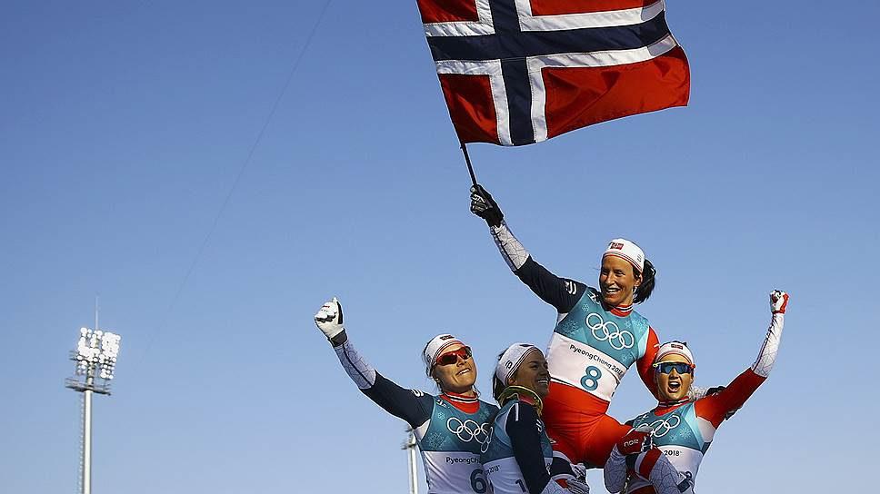 Как лыжница Марит Бьорген стала лучшей спортсменкой в истории зимних Олимпиад