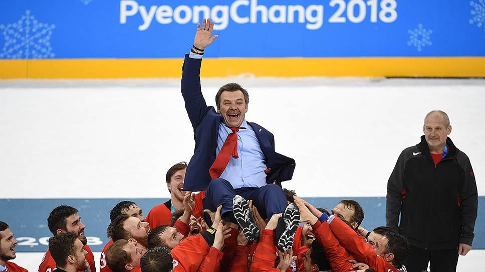 Как российский хоккей вернул себе олимпийское золото