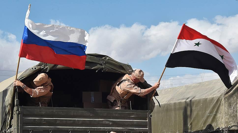 Как Москва и Дамаск нацелились на товарооборот в  $2 млрд