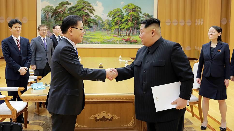 Лидеры Северной и Южной Кореи встретятся впервые с 2007 года