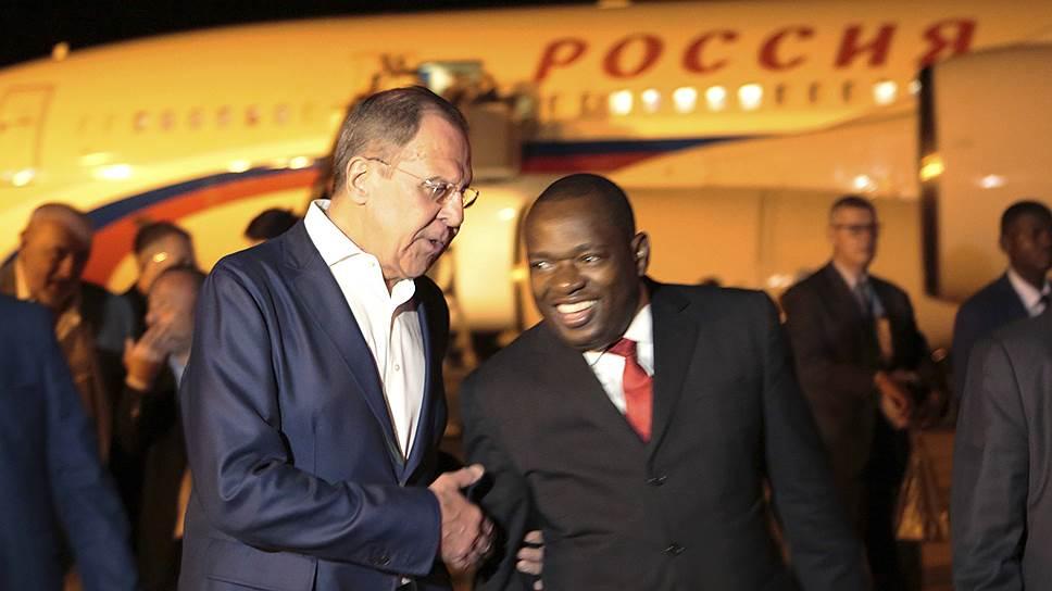 Как прошел визит Сергея Лаврова в Зимбабве