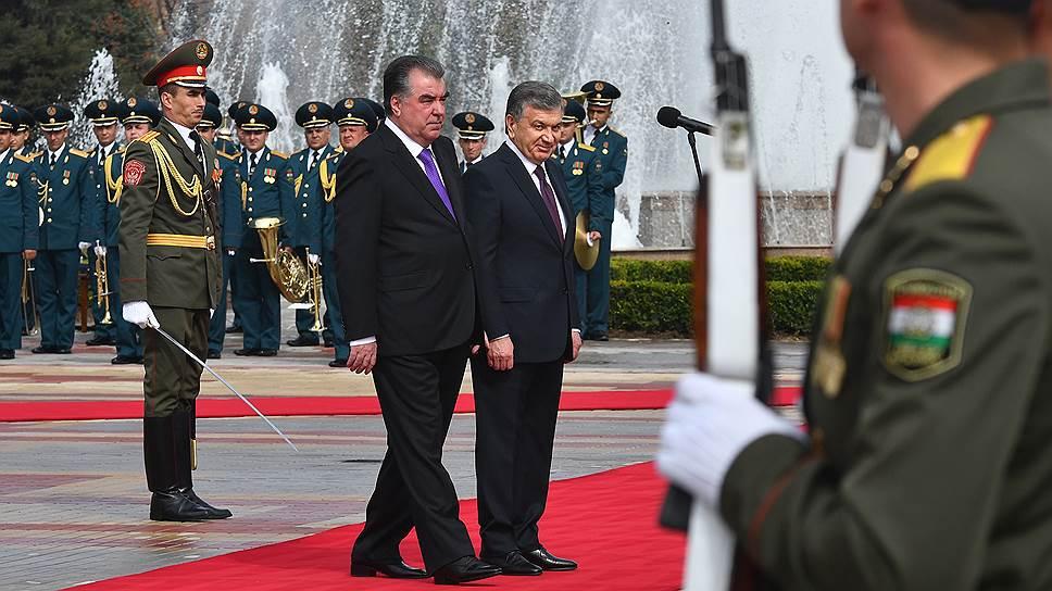 В каких вопросах поставил точку визит Шавката Мирзиёева в Душанбе