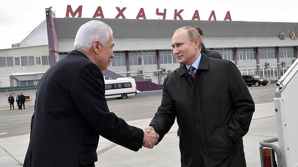 Как Владимир Путин проинспектировал Дагестан