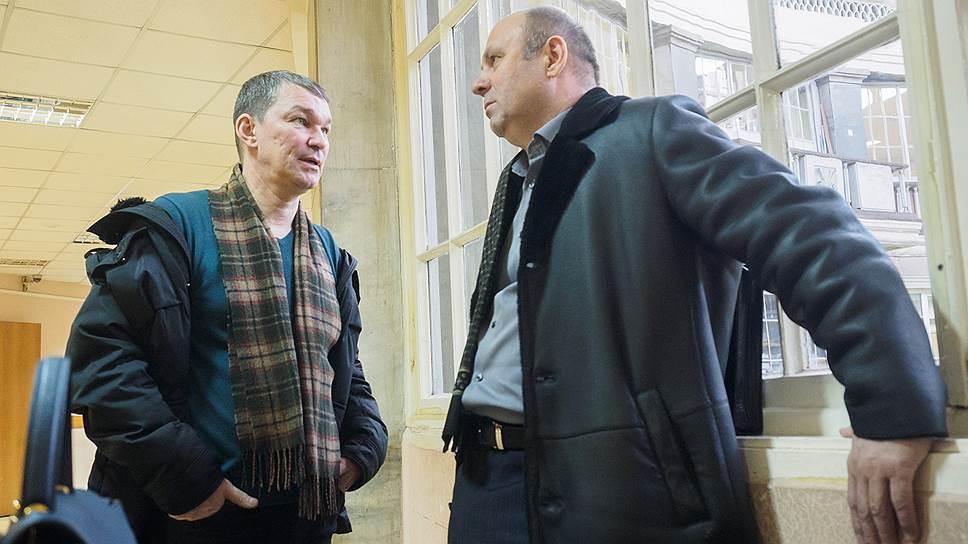 Гендиректор компании «Спарк авиа» Сергей Прокофьев (справа) и его заместитель Игорь Меледин
