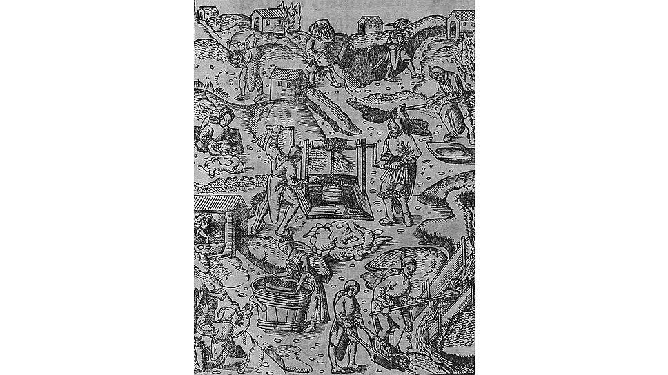 Вокруг серебряного рудника в Богемии в начале XVI века вырос город Иоахимсталь, давший название талеру, который позднее превратился в доллар
