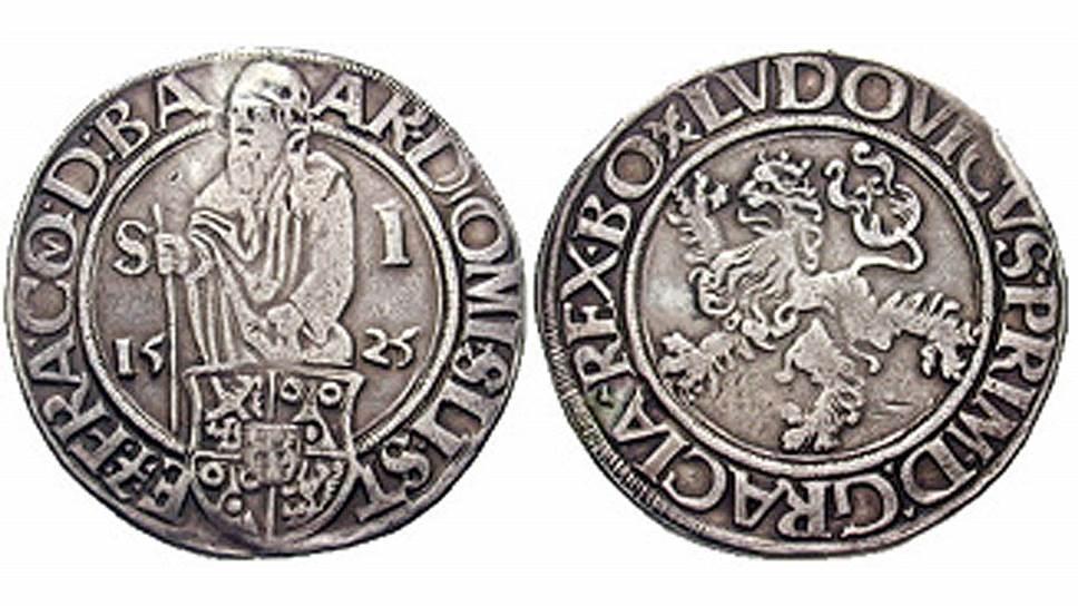 Иоахимсталеры, которые начал чеканить в 1518 году барон Стефан Шлик, благодаря его энтузиазму и богатству серебряной жилы буквально наводнили Европу