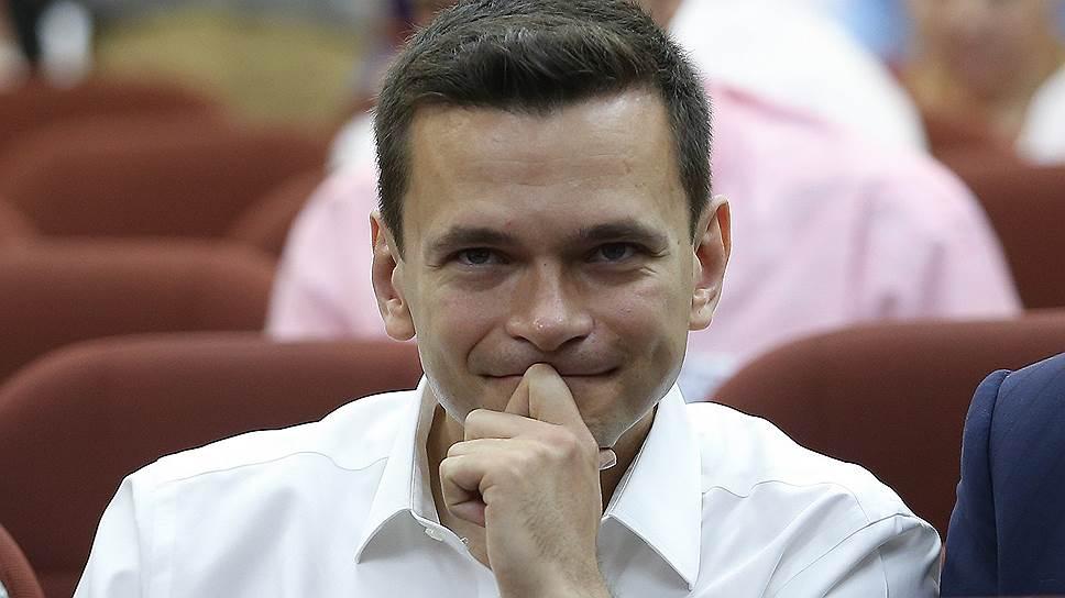Лидер движения «Солидарность» Илья Яшин
