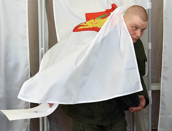 Выборы президента РФ, голосование военнослужащих в Москве