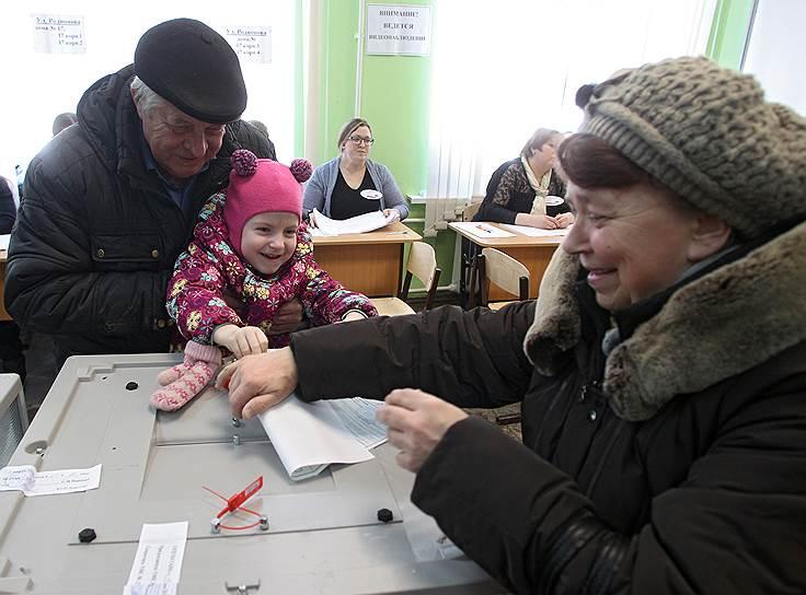 Голосование на выборах президента РФ в Нижнем Новгороде