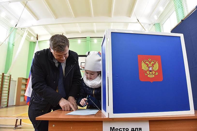 Выборы президента России. Спикер заксобрания Санкт-Петербурга Вячеслав Макаров