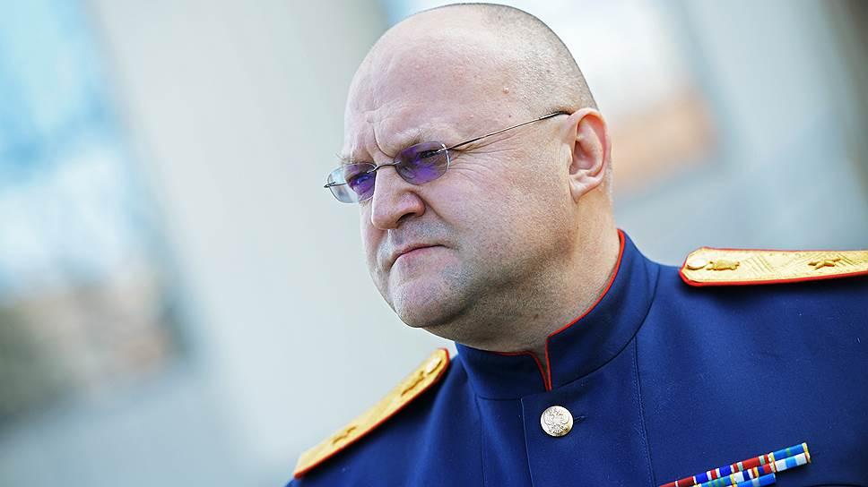 Руководитель Главного следственного управления Следственного комитета РФ по городу Москве Александр Дрыманов