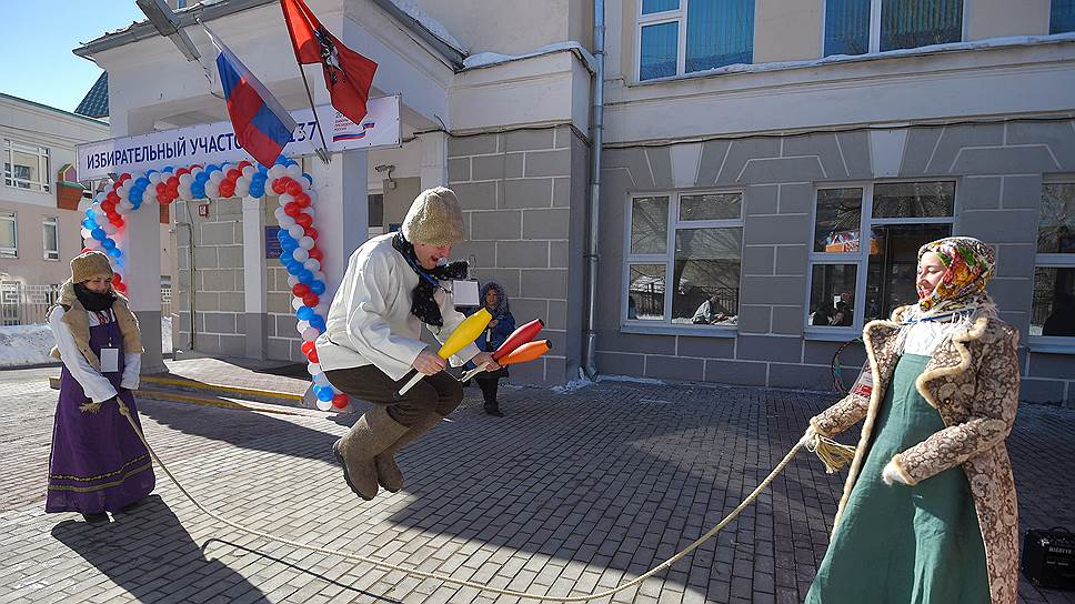 Как голосовали за Владимира Путина в Москве