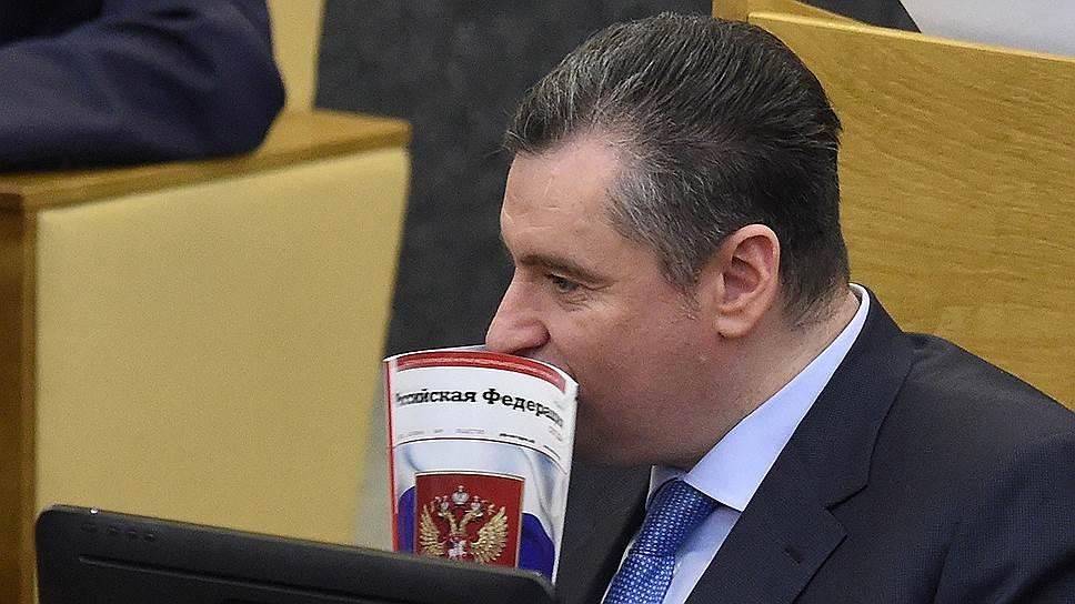 Депутат Госдумы Леонид Слуцкий