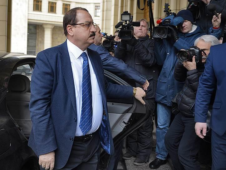 Посол Сирии в России Риад Хаддад