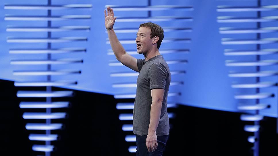 Основатель и глава Facebook Марк Цукерберг
