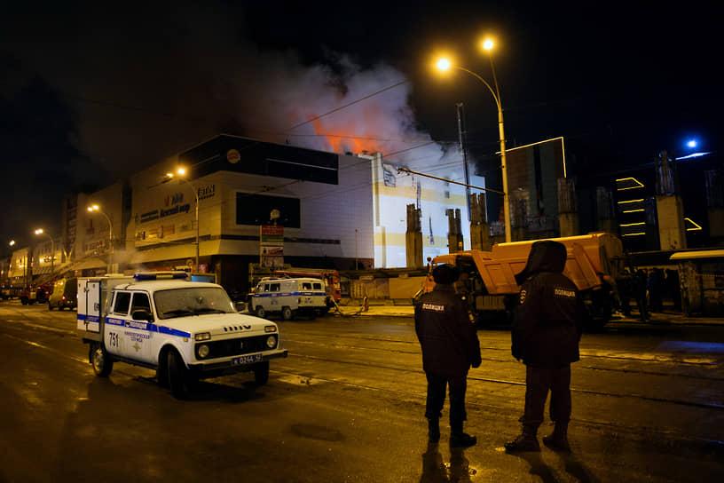 Открытое горение было окончательно ликвидировано 25 марта к 23:07 (19:07 мск)