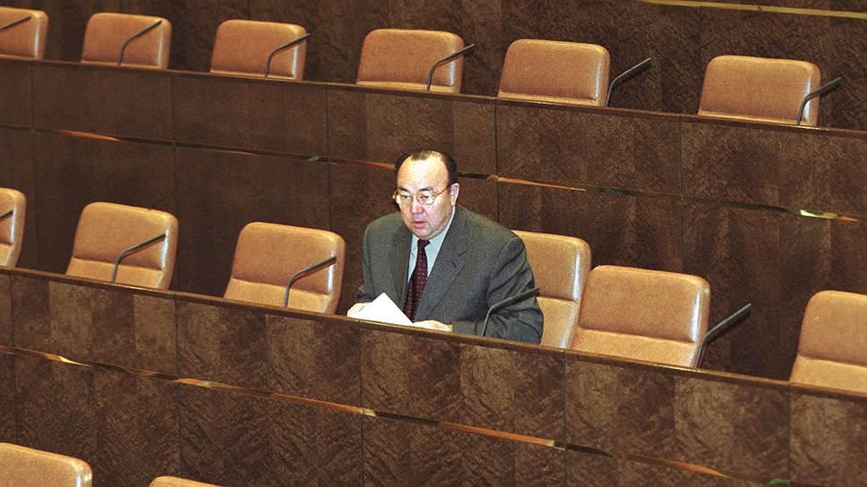 Глава Башкирии Муртаза Рахимов смог сохранить «Башнефть» за республикой