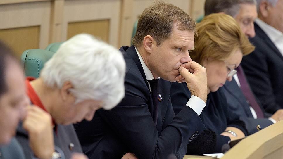 Глава комитета СФ по регламенту Андрей Кутепов
