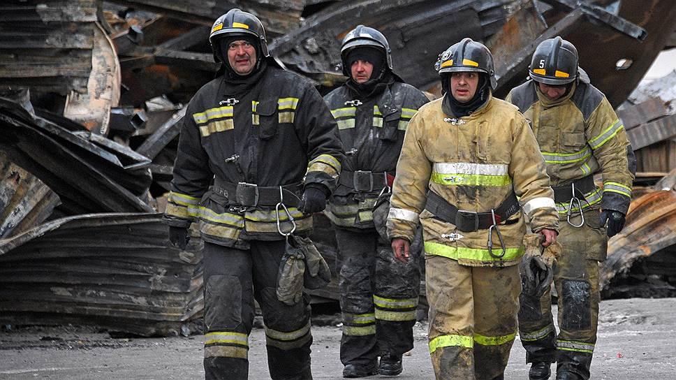 Кемеровские сотрудники МЧС рассказали, как тушили «Зимнюю вишню»