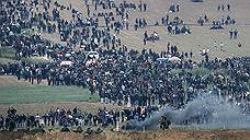 Палестинцы осадили израильскую границу