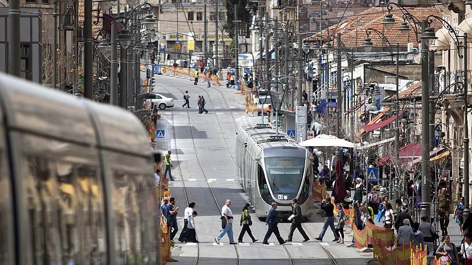 Иерусалимский скоростной трамвай строили шесть лет