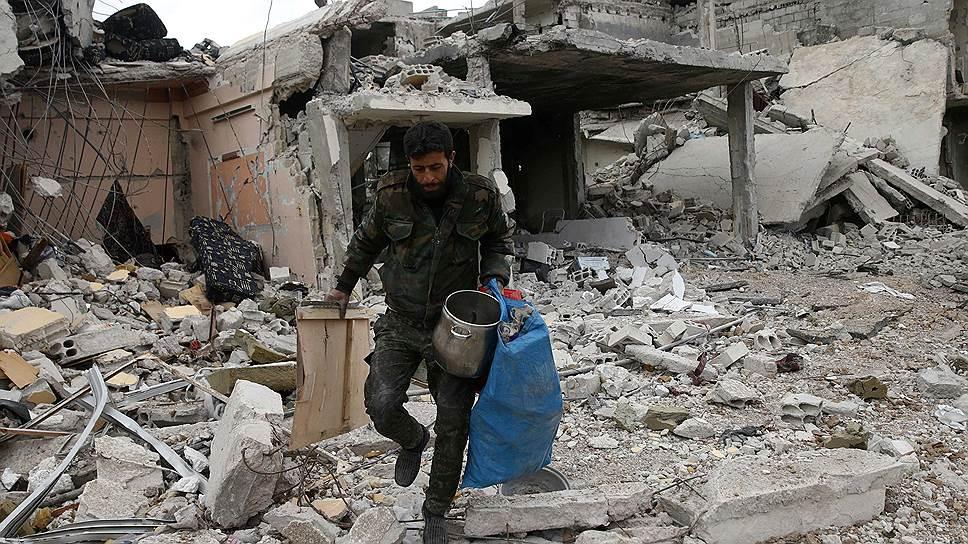 Как сирийская армия взяла под контроль Восточную Гуту