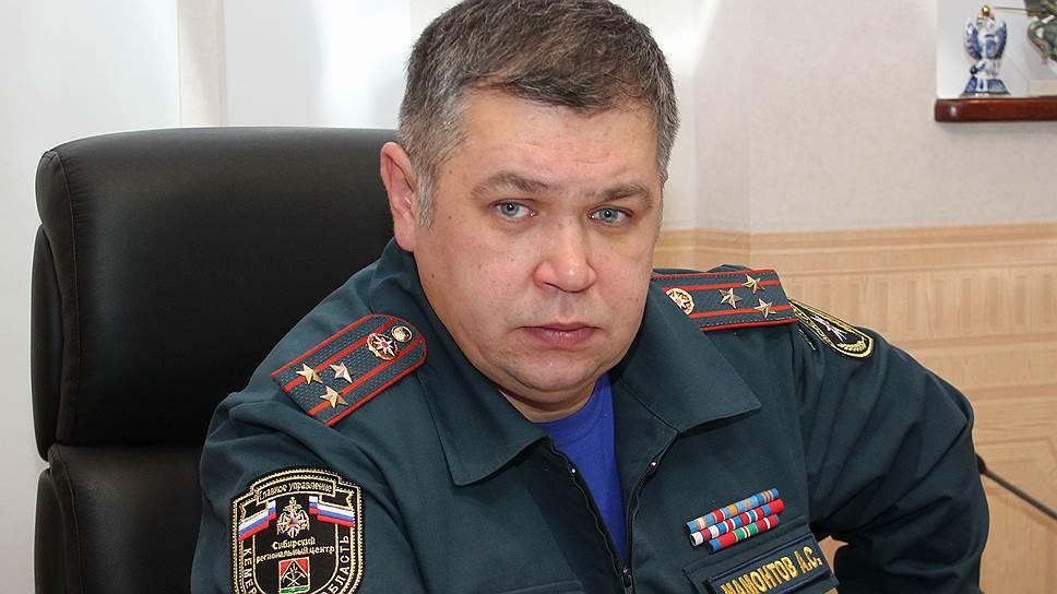 Начальник главного управления МЧС по Кемеровской области Александр Мамонтов