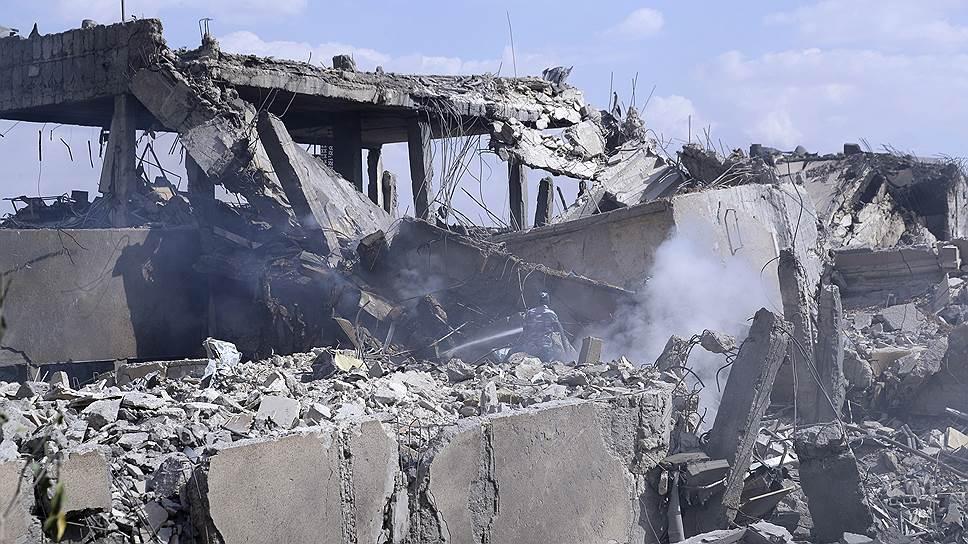 Сирия под ударом
