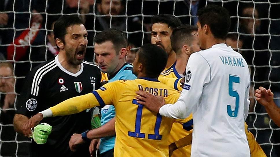 Как «Реал» сыграл с «Ювентусом»