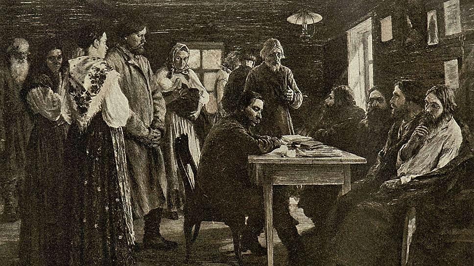 Волостной суд мог приговорить виновных максимум к трем рублям штрафа, шести дням общественных работ, семи дням ареста и двадцати ударам розгами