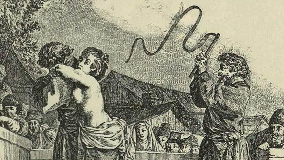 Телесные наказания для освобожденных от крепостной зависимости крестьянок были формально отменены в 1863 году. Женщинам-заключенным пришлось ждать подобной милости еще тридцать лет