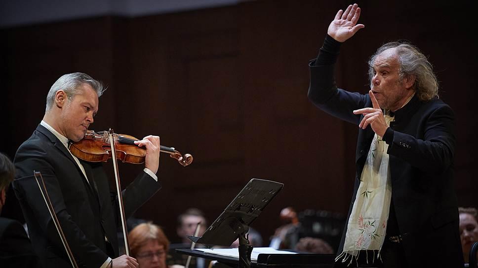 Вадим Репин и Андерс Мустонен стали первыми исполнителями концерта Софии Губайдулиной «Диалог: Я и Ты»