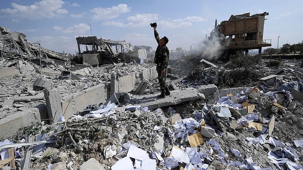 Как в мире отреагировали на удары США и их союзников по Сирии