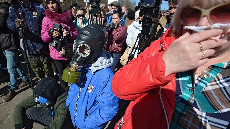 Как в Подмосковье митинговали против мусора и агитировали за его раздельный сбор