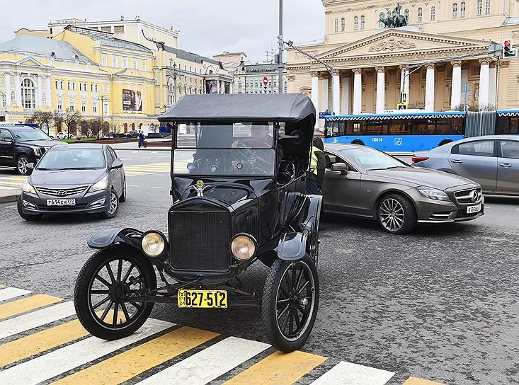 Раритетный «Ford T» 1924 года выпуска